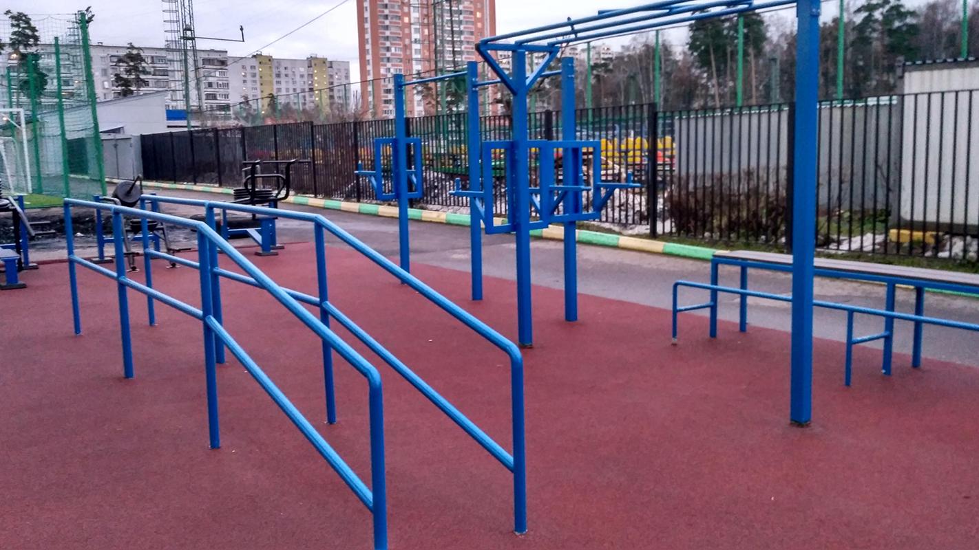 Воркаут уличный спортивный комплекс спортивное оборудование